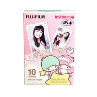 Fujifilm Instax Mini Film Sanrio Little Twin Stars KiKi LaLa Polaroid Instant Photo