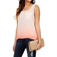 Coral Ombre Tank