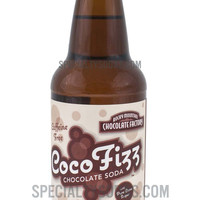 Rocky Mountain Chocolate Factory Coco Fizz 12oz Glass Bottle