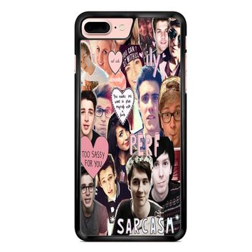 Youtuber Collage 1 iPhone 7 Plus Case