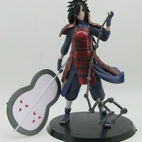 Japanese Anime Naruto Uchiha Madara 7'' figure toy new but without box A57F