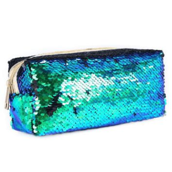 Mermaid Sequin Pencil Pouch (Pre-order | Delivered by August 10th)