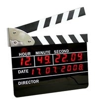 INFMETRY:: Film Action Clock - Home&Decor