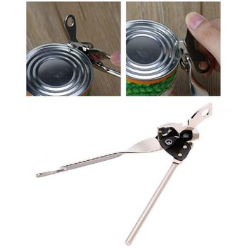 1pcs Stainless Steel Heavy Duty Can Bottle Jar Tin Lid Opener Manual Kitchen Tool
