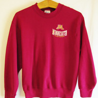 Vintage 1990's Retro Minnesota Golden Gophers Sweatshirt