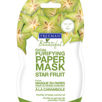 Star Fruit Purifying Facial Paper Mask :: Freeman Beauty