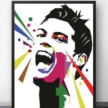 Cristiano Ronaldo Football Soccer Star DIY Painting By Numbers Kit Paint On Canvas Painting Calligraphy For Home Decor