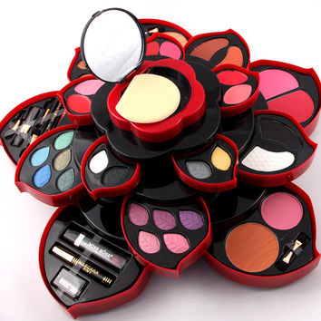 Fashion MISS ROSE Natural Sexy Eye Shadow [11517935567]