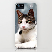 meow iPhone Case by Sylvia Cook Photography | Society6