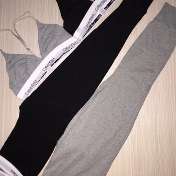 Calvin Klein Cotton T-Back Underwear Stretch Pants Trousers Sweatpants