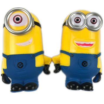 Minion Lovely 3D Minions Cartoon Figures Piggy Bank Money Box hucha Saving Coin Cent Penny Children Toy Baby toy piggy bank