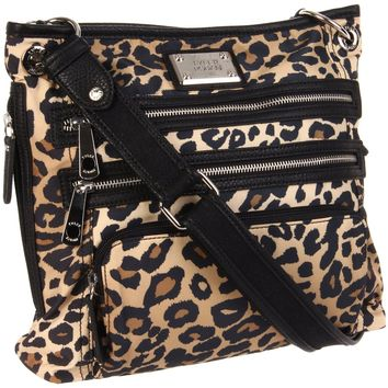 Tyler Rodan Women's Kingston TR05805 Cross Body,Cheetah,One Size