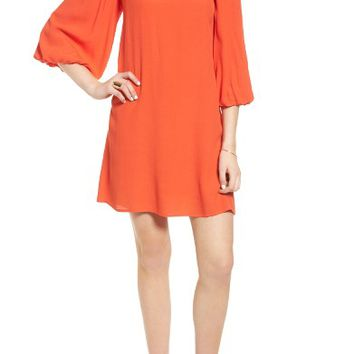 Soprano Bell Sleeve Off the Shoulder Dress | Nordstrom