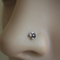 Tiny flower nose screw