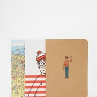 Where's Wally A6 Journals - Set of 3