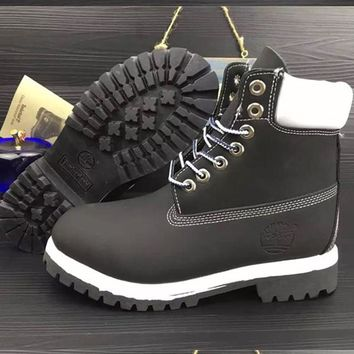 Timberland Rhubarb Boots Men Women Waterproof Martin Boots Shoes