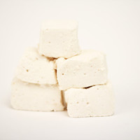 Homemade Light and Fluffy Vanilla Marshmallows - One Dozen 12 Valentines Day Candy Gift Gourmet