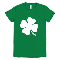 Clover Graphic Tee, Shamrock, St Patricks Day Tshirt