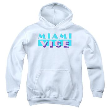 Miami Vice - Logo Youth Pull Over Hoodie