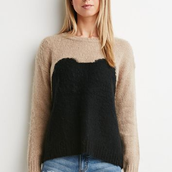 Contemporary Fuzzy Sweater