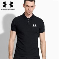Hot Sale Under Armour Mens Polo Shirt 100% COTTON TOP