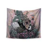 "Mat Miller ""Land of The Sleeping Giant"" Panda Wall Tapestry"