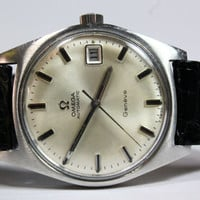 Vintage Mens Omega Automatic Geneve Cal 565 Date Swiss Wrist Watch