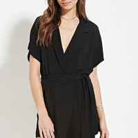 Contemporary Surplice Romper