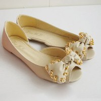 Sweety Bowknot Chain Encircle Sandal For Women China Wholesale - Sammydress.com