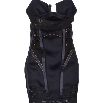 Anthony Vaccarello Short Dress