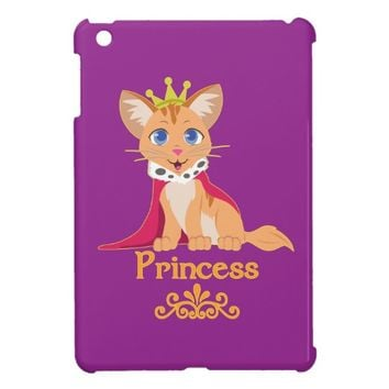 Princess Kitten Cover For The iPad Mini