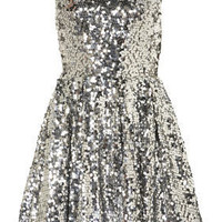 Sequin Skater Dress - New In This Week - New In - Topshop USA