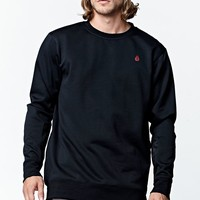 Volcom Kabigtime Riding Snow Fleece - Mens Tee - Black