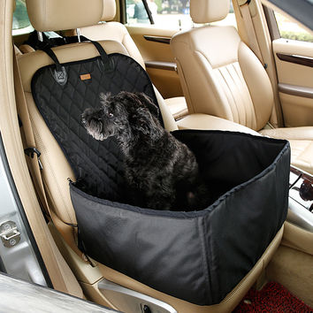 """Car Cushion for Dogs -Thick Waterproof Dog Travel Seat Size: 18"""" x 18"""" x 23"""""""