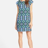 Women's Sam Edelman Illusion Panel Shift Dress,