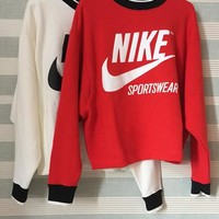 Nike Archive Top Sweater Pullover Sweatshirt