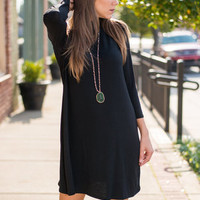 Couldn't Possibly Want More Dress, Black