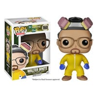 Funko POP! Television - Breaking Bad Vinyl Figure - WALTER WHITE (Cook Suit): BBToyStore.com - Toys, Plush, Trading Cards, Action Figures & Games online retail store shop sale