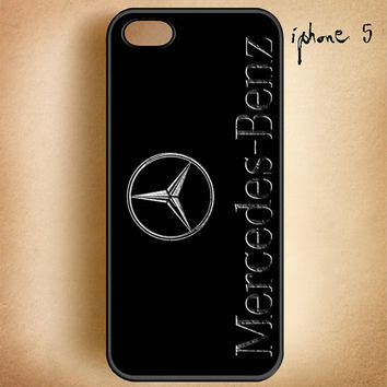Mercedes Benz-Design On Hard Plastic Cover Case, IPhone 4,4S or IPhone 5 Case, Samsung Galaxy S2,S3 or S4 Case