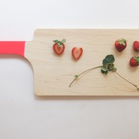 Pink Maple Wood Serving Board