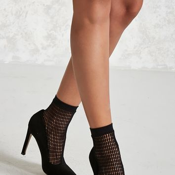Netted Crew Socks