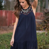All Your Love Dress, Navy