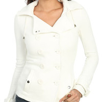 Double Breasted Fleece Jacket | Shop Jackets at Wet Seal