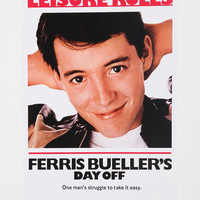 Urban Outfitters - Ferris Bueller's Day Off Poster