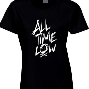 All Time Low Title Womens T Shirt
