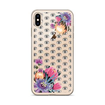 Valley Of The Eyes Floral iPhone Case
