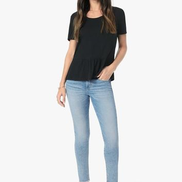 Joe's Jeans The Icon Crop Fray Hem in Willow