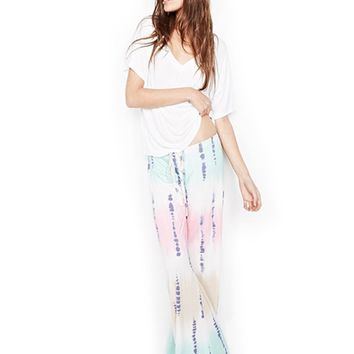 Michael Lauren Barto Wide Leg Pant in Tie Dye | Boutique To You