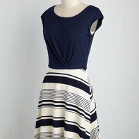 Ramen Rendezvous Dress in Stripes