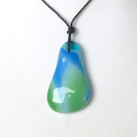 Glass Waterfall Necklace by The Wild Willows